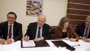 Signing Agreement Between Al Mashreq Hospital & Monpelier French Hospital   5