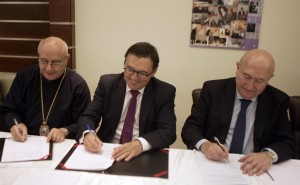 Signing Agreement Between Al Mashreq Hospital & Monpelier French Hospital   6
