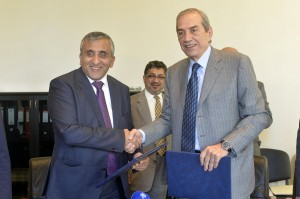 Signing Agreement Between Lebanon & The Koweity National Funds 1