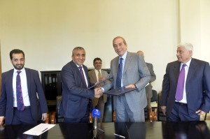 Signing Agreement Between Lebanon & The Koweity National Funds 2