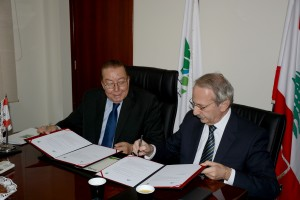 Signing Agreement Between Minister Mohamad El Machnouk & The Industrial Research Center  2