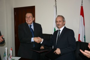 Signing Agreement Between Minister Mohamad El Machnouk & The Industrial Research Center  3