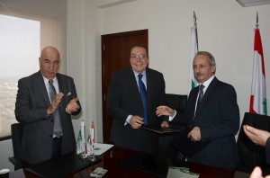 Signing Agreement Between Minister Mohamad El Machnouk & The Industrial Research Center  4
