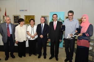 The Announcing of  the Winners of the Ministry of Culture For the Novel in Arabic at The UNESCO  1