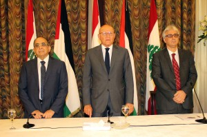 The Launching of the Lebanese Palestinian Dialogue Committee Their Report at The Grand Serail 3
