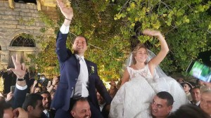 The Wedding of MP Sami Gemayel & Mrs Carine Tadmori  1