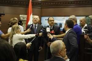 Tours For The Journalists at the Presidential Palace in Baabda  1