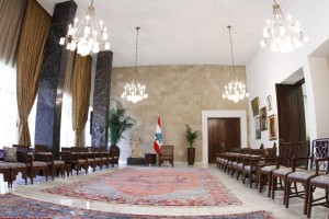Tours For The Journalists at the Presidential Palace in Baabda  10