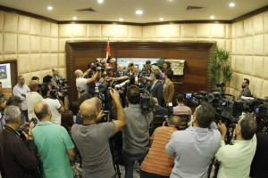 Tours For The Journalists at the Presidential Palace in Baabda  2