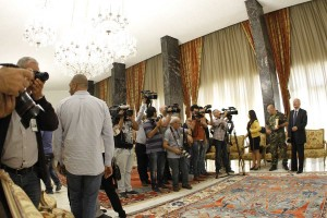 Tours For The Journalists at the Presidential Palace in Baabda  6