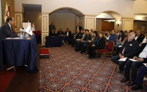 Workshop For Minister Sejaan Azzi at Padova Hotel (Domestic Workers in Lebanon)