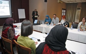Workshop for Journalists on Media & Childhood at Cosmopolitan Hotel  3